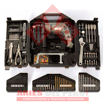 Kit taladro percutor 1 2 aries del per sac - Accesorios para taladros electricos ...